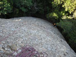 Aitor a l'Arbret, Agulles, Montserrat, Espagne 3