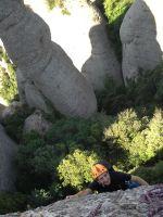 Aitor a l'Arbret, Agulles, Montserrat, Espagne 6
