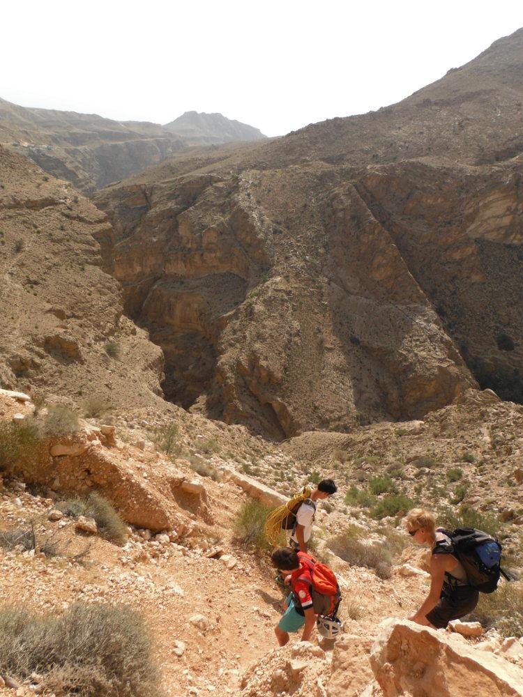 Wadi Ta'ab, Hajar Oriental 5
