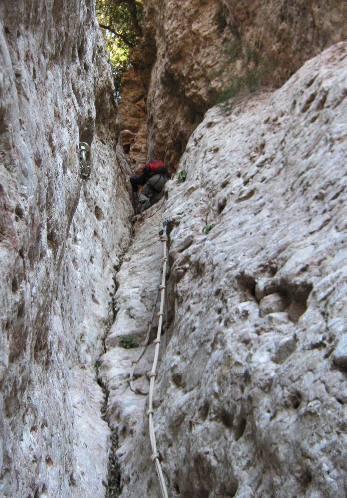 Canal de l'Artiga alta, Montserrat 8