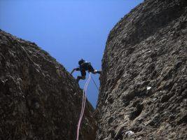 Aitor a l'Arbret, Agulles, Montserrat, Espagne 8