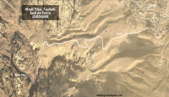 accès Wadi Tibn
