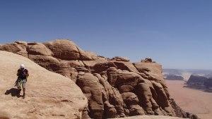 Hammad's Route, Jebel Rum, Jordanie 14