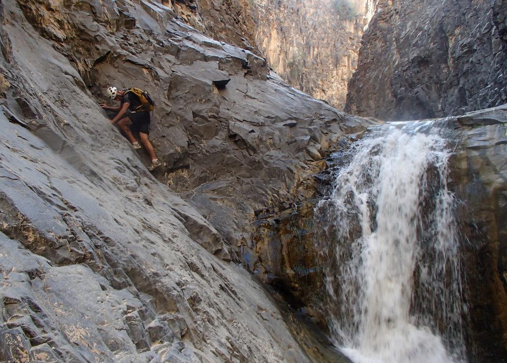 17. contournement 2de cascade délicat