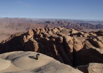 Sabbah's Route, Jebel Rum, Jordanie 15