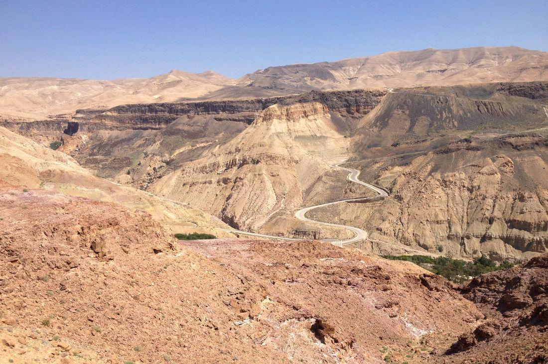 Wadi Zerqa Ma'in, Moab 4
