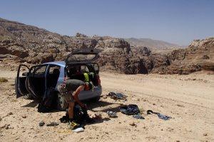 Nuances de Grès, Wadi Tibn, Petra, Jordanie 2