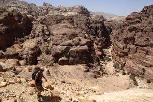 Nuances de Grès, Wadi Tibn, Petra, Jordanie 5