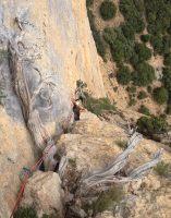 Dièdre Farreny a la Roca Alta, Vilanova de Meïa, Espagne 18