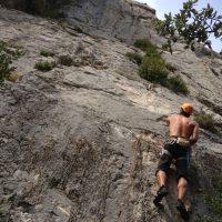 Mac Gregor a su Pesar al Roc d'En Sola, Perles, Espagne 7