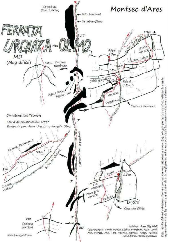 Urquiza-Olmo, Montrebeï 3