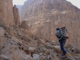 Hell Rock, Wadi Naqab, Émirats 7