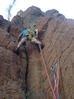 Le vent l'emportera, Snake Canyon, Wadi Bani Awf, Bilad Seet, Oman 7