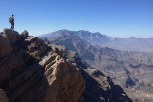 La crête de l'indien, Sharaf Al Alamein, Al Hamra, Oman 12