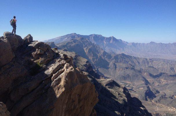 La crête de l'indien, Sharaf Al Alamein, Al Hamra, Oman 2