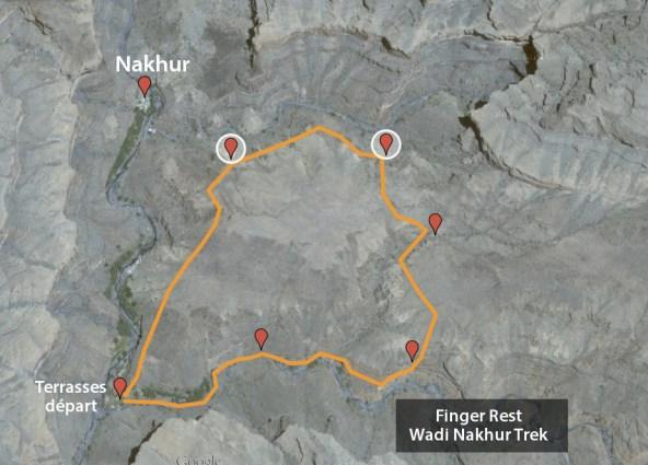 topo du trek Finger Rest