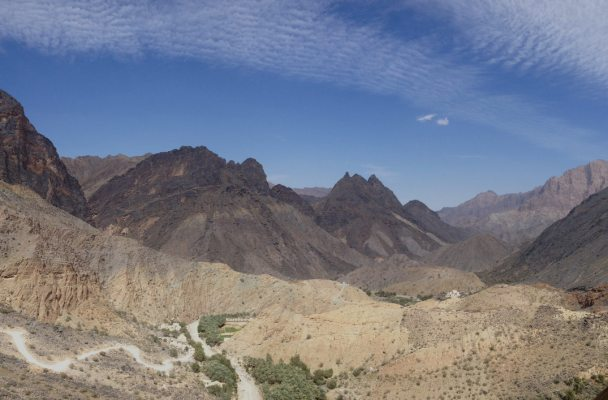 No Slicks, Pilier Ouest, Snake Canyon, Wadi Bani Awf, Oman 2