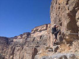 Ferrata du Jebel Shams, Jebel Akhdar 12