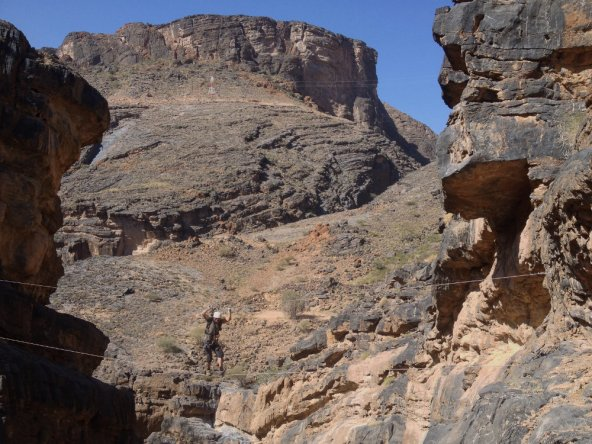 Snake canyon, Jebel Akhdar 1