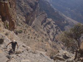 Ferrata du Jebel Shams, Jebel Akhdar 14