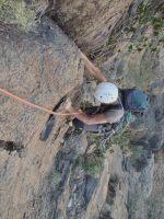 No Slicks, Pilier Ouest, Snake Canyon, Wadi Bani Awf, Oman 14