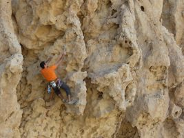 Hatta Crag, Sport climbing, Oman 3