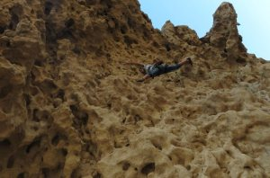 Hatta Crag, Sport climbing, Oman 23