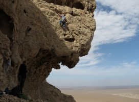 Hatta Crag, Sport climbing, Oman 14