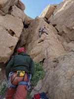 Hatta Crag, Sport climbing, Oman 7