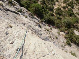 Basalm del Tigre a la paret Bucolica, Oliana 4