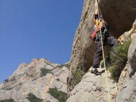 Basalm del Tigre a la paret Bucolica, Oliana 11