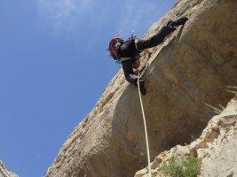 Basalm del Tigre a la paret Bucolica, Oliana 12