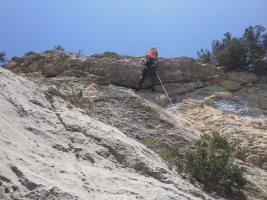 Basalm del Tigre a la paret Bucolica, Oliana 19