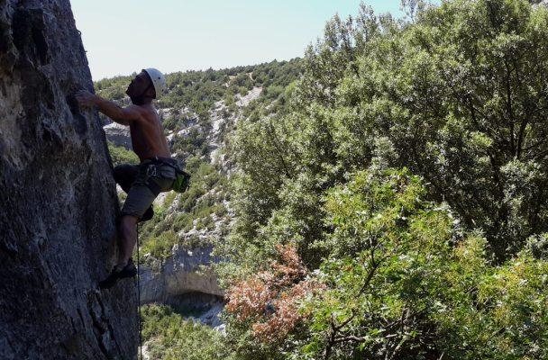 Sport climbing, Rodellar, Espagne 2