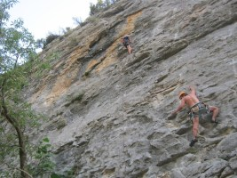 Sport climbing, Rodellar, Espagne 5