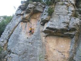 Sport climbing, Rodellar, Espagne 26
