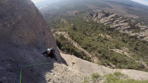 Topless a la Pastereta, Montserrat, Espagne 4