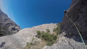 Topless a la Pastereta, Montserrat, Espagne 9