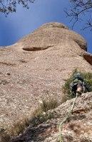GEDE al Agulla Gran del Pas del Princep, Montserrat, Espagne 3