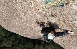 GEDE al Agulla Gran del Pas del Princep, Montserrat, Espagne 5