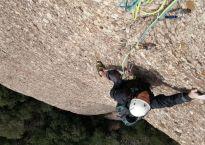 GEDE al Agulla Gran del Pas del Princep, Montserrat, Espagne 6