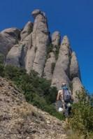 Via Aleix a la Punxa, Montserrat, Espagne 4