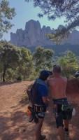Desideratum a l'Agulla dels Espeleolegs, Montserrat, Espagne 3