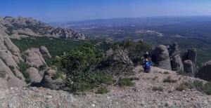 Desideratum a l'Agulla dels Espeleolegs, Montserrat, Espagne 22