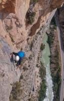 Via CADE a la Paret de Les Bagasses, Terradets, Espagne 11