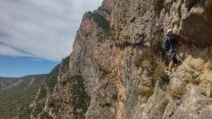 Via CADE a la Paret de Les Bagasses, Terradets 11