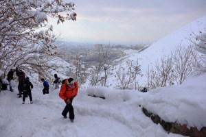 Darabad Peak, Mont Tochal, Teheran, Iran 5