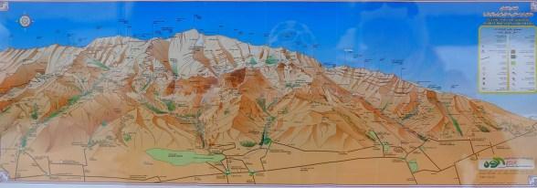 Carte des treks