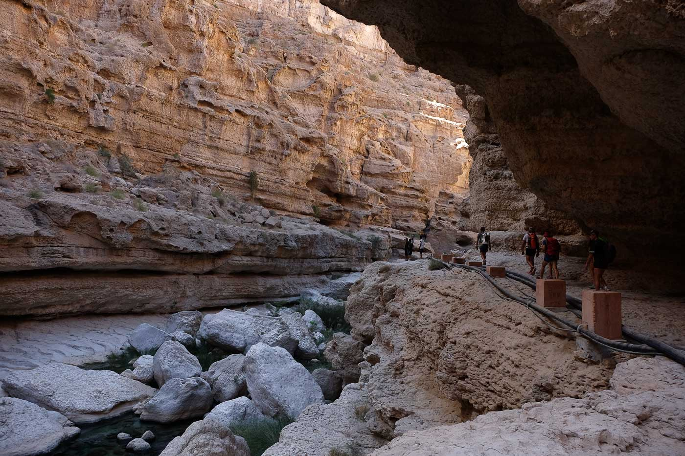 Wadi Shab, Hajar Oriental 7
