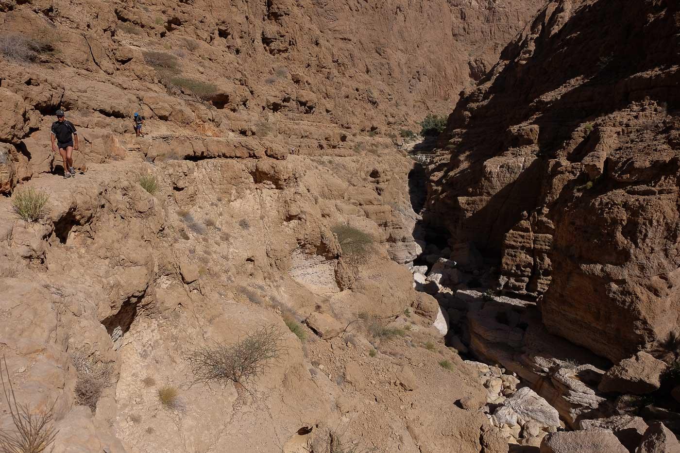 Wadi Shab, Hajar Oriental 16